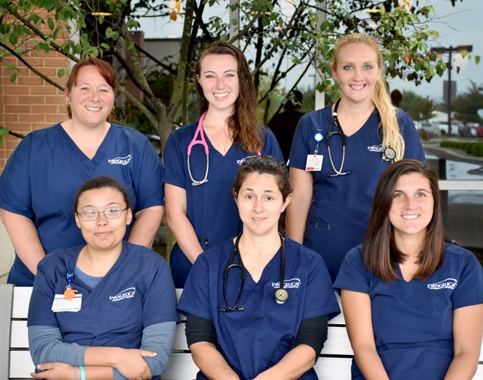 Evangelical Community Hospital Mentors and Supports New Registered Nurses