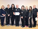 Evangelical's Selinsgrove Imaging Center Team Presented Excellence Award