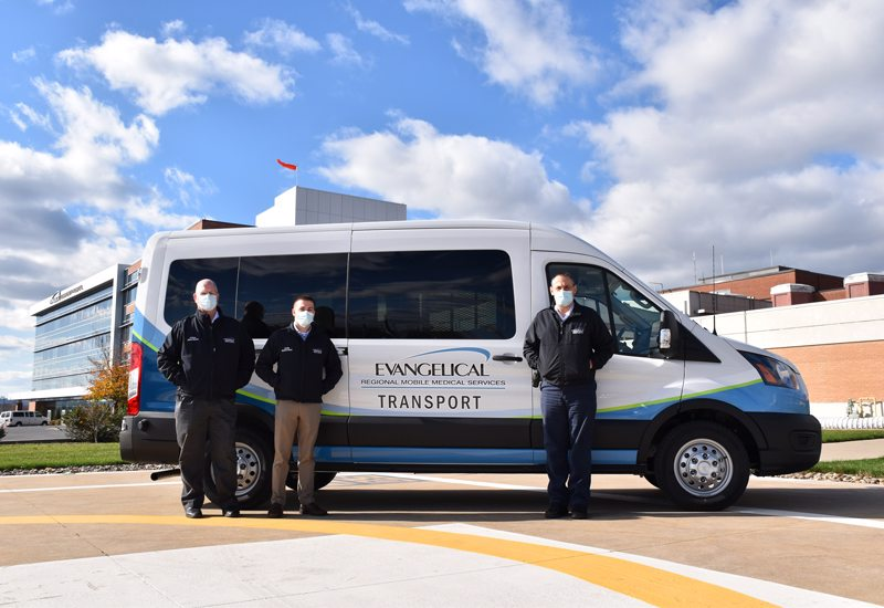 Wheelchair/Stretcher-Enabled Van Introduced as Part of Evangelical Regional Mobile Medical Services