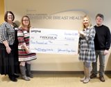 Carpetman of Milton Makes Donation to the Thyra M. Humphreys Center for Breast Health