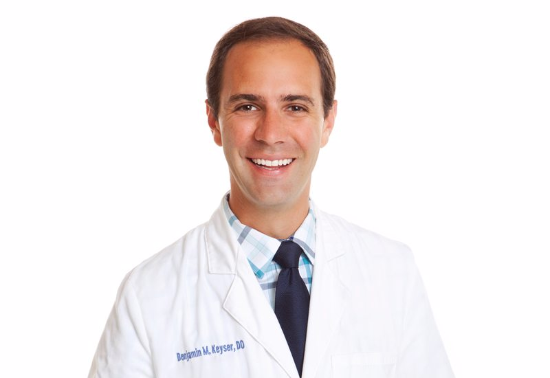 Benjamin Keyser, DO, Named Medical Director of Wound and Hyperbaric Medicine at Evangelical Community Hospital