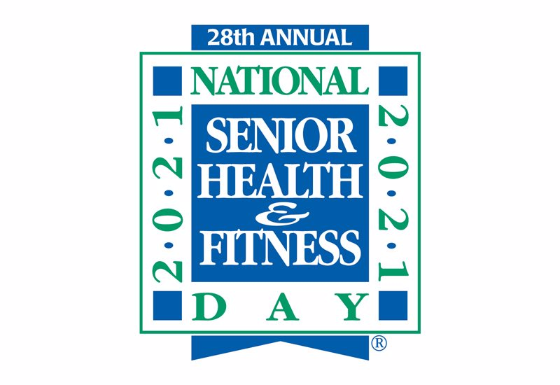National Senior Health and Fitness Day® Being Held Wednesday, May 26, 2021