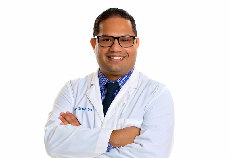 Saquib Siddiqi, MS, DO, Named Medical Director of Cardiac Rehabilitation