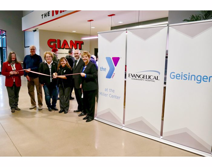 Ribbon Cutting Signifies New Beginning at YMCA at the Miller Center